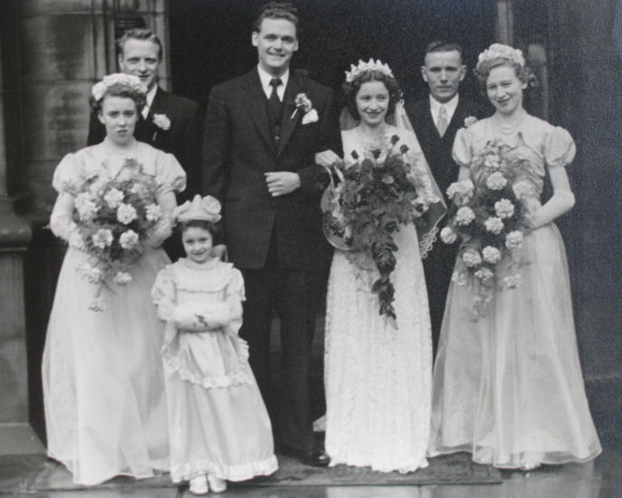 GILBERT, William and GOLDING, Sheila - wedding